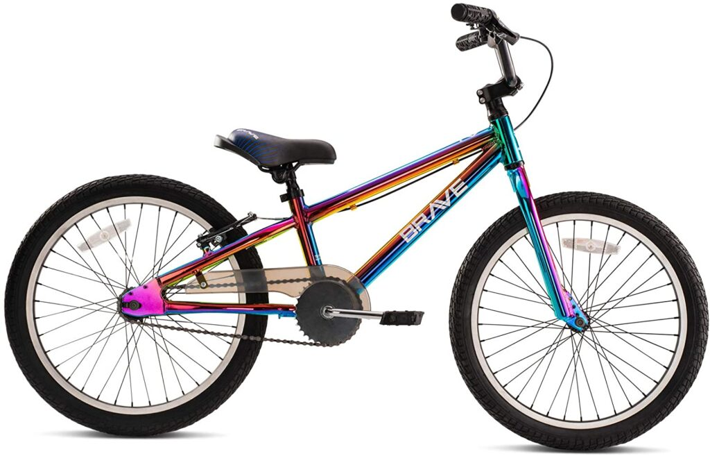 """Brave 20"""" BMX Freestyle Kids Bicycle, Ages 5-8 Years Old"""